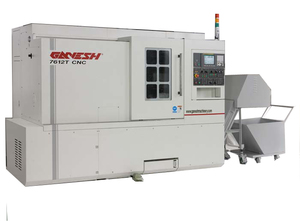 Heavy duty cnc turning center with 10 inch chuck