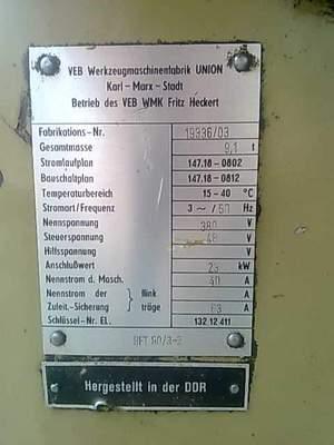 Wmw union bft 90 3 2 label