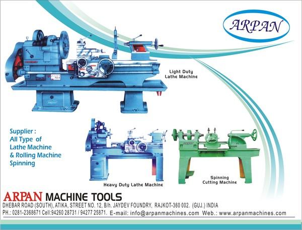 Arpan machine tools hpcl