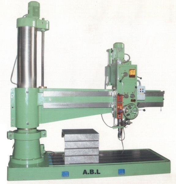Pres 1 . radial drill.