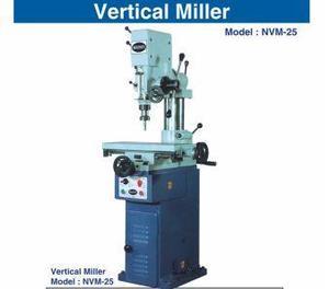 Nvm 25 vertical drill cum milling mc   10