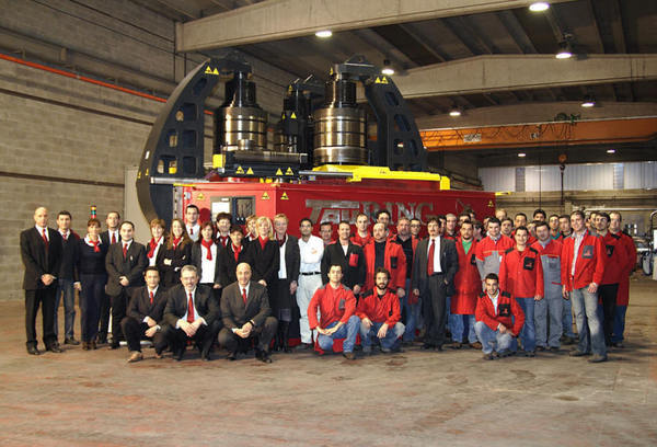 Alfa500 and staff