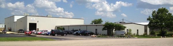 Company outside facility small