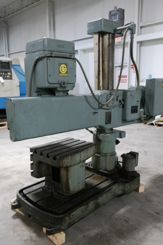 Giddings   lewis bickford chipmaster radial arm drill4