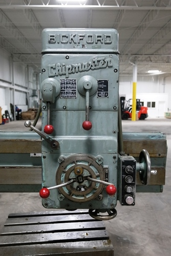 Giddings   lewis bickford chipmaster radial arm drill5