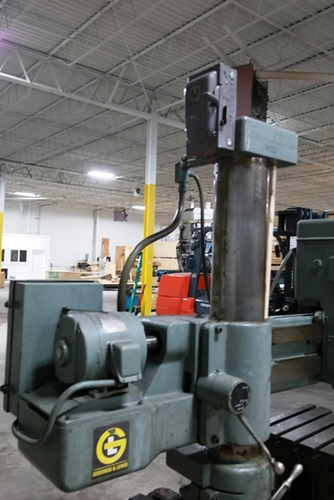 Giddings   lewis bickford chipmaster radial arm drill6