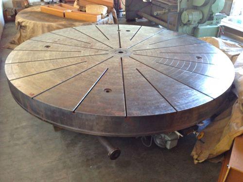 Eimeldingen 4m rotary table