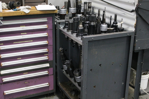 Louca gundrill spindle tooling