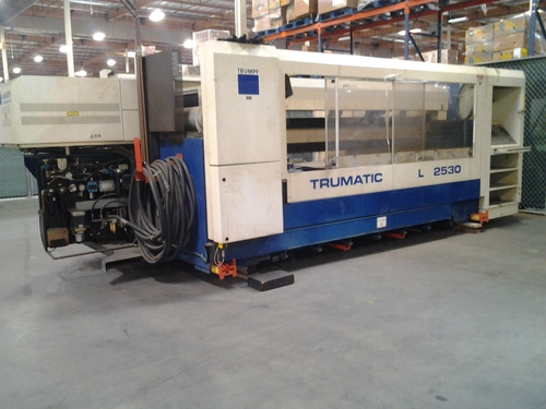 403042 tumpf trumatic l2530 laser cutter main