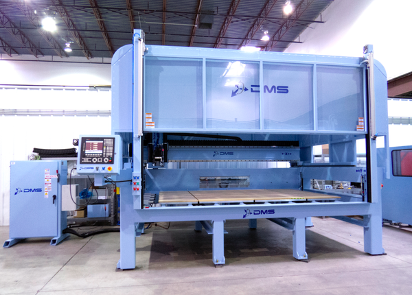 Dms 3 axis enclosed gantry cnc machine center