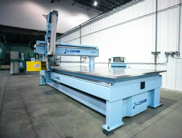 Diversified machine systems d3 3 axis cnc router