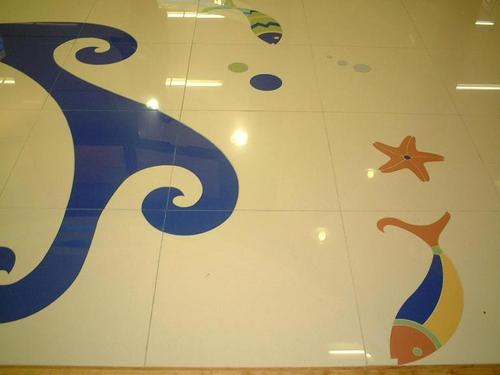 Marble cutting by waterjet cutting machine