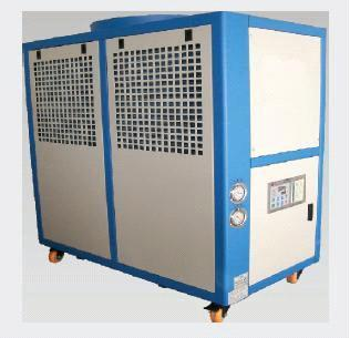 Water chiller for waterjet cutting application