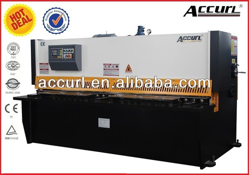 Hydraulic digital display of cutting machine qc12y