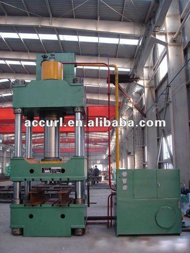 Cuatro columnas prensa hidraulica 100ton