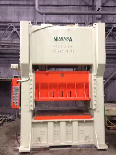 225 ton niagara ssdc press 1306c  2
