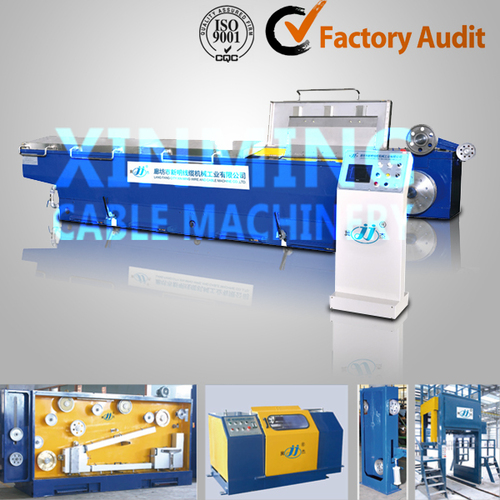 Aluminum rod breakdown machine
