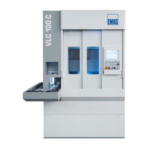 Laser welding machine elc 160 for the machining of gears a0