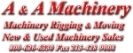 A & A Machinery Sales, Inc.