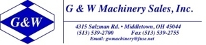 G & W Machinery Sales, Inc.