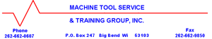Machine Tool Service & Training Group Inc.
