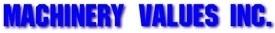Machinery Values, Inc.