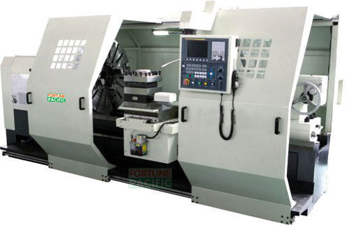 Flat bed turning cnc lathe nc1000 1250 b755  5tons