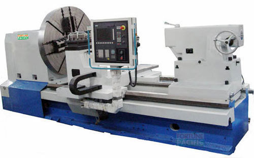 Flat bed turning cnc lathe nc1800 b1100 10tons 18tons