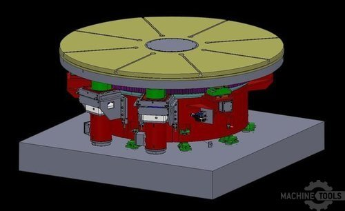 Cropped rotary table