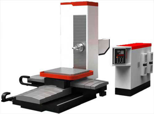 Kimi cnc horizontal boring and milling machine