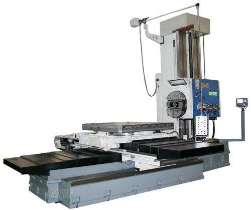 Tb130 km dro horizontal boring and milling machine
