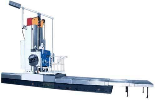 Fb130 km dro floor type milling and boring machine