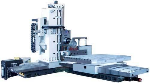 Fb130 kme fb160 kme cnc economic floor type boring and milling machine