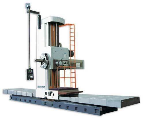 Fb130 hd dro floor type milling and boring machine