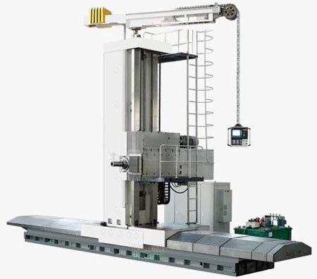 Fbr130 wre fbr160 wre fbr200 wre cnc economic ram floor type milling and boring machine