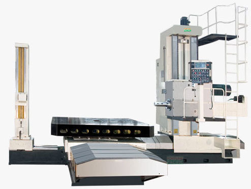 Pb130 wr cnc planer type boring and milling machine