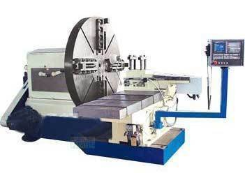 Fl2200 cnc facing lathe