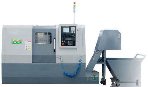 Cnc450 cnc470 slant bed full function cnc lathe