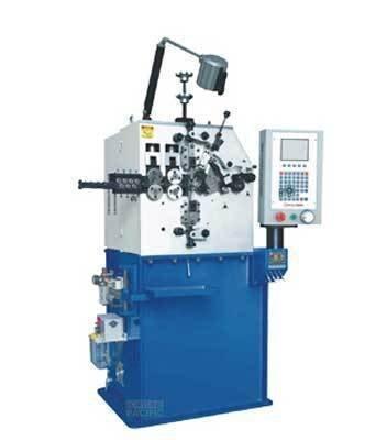 Scm16 scm20 scm35 c3 spring coiling machine