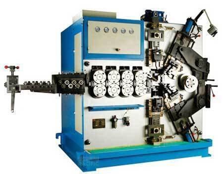 Scm120 c5 spring coiling machine