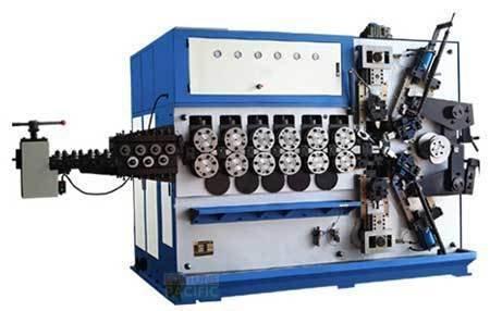 Scm200 c5 spring coiling machine