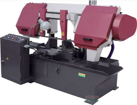 H280 h300 h400 dual column horizontal band sawing machine
