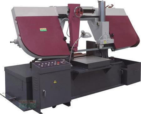H500 h600 dual column horizontal band sawing machine
