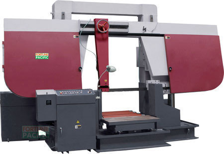 H1000 h1200 dual column gantry band sawing machine