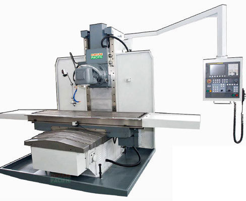 Vbm50 nc bed type milling machine