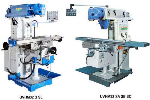 Uvhm32 s sl sa sb sc horizontal and vertical knee type milling machine