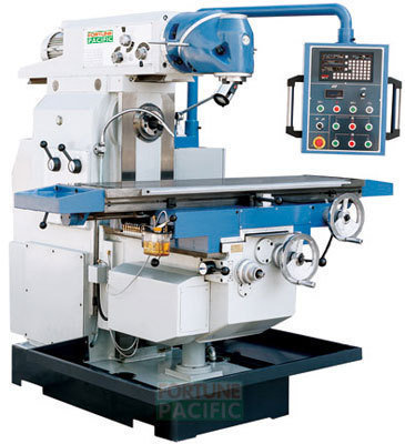 Uvhm40 l universal swivel head milling machine