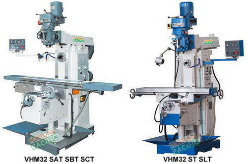 Vhm32 horizontal and vertical knee type milling machine
