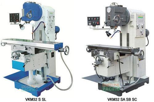 Vkm32 s sl sa sb sc vertical knee type milling machine