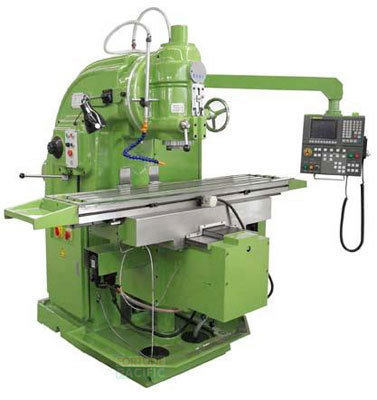 Vkm32 nc heavy duty vertical knee type milling machine